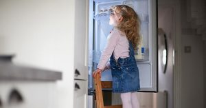Faccio con quello che c'è: il frigo mezzo pieno